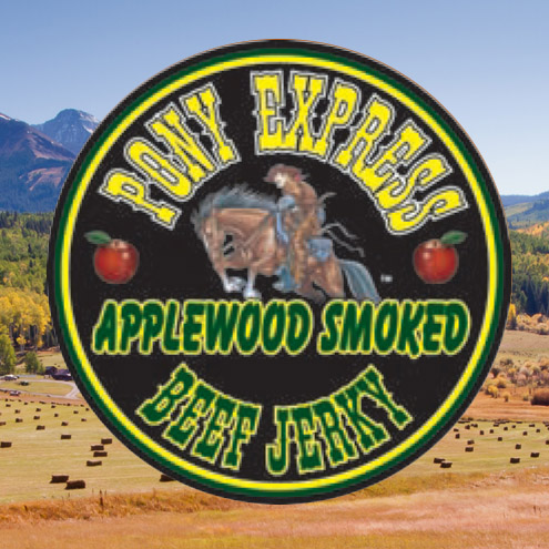 applewood smoked flavored beef jerky logo