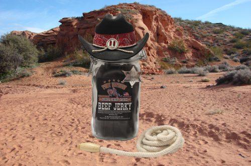 1.5 liter jar original beef jerky