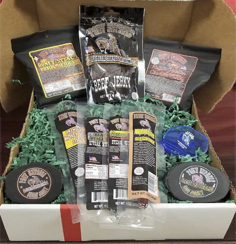 beef jerky $25 gift box