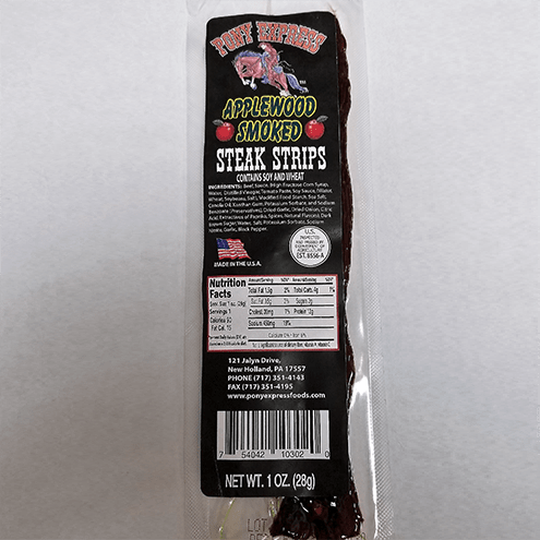 applewood smoked flavored beef jerky steaks 1oz